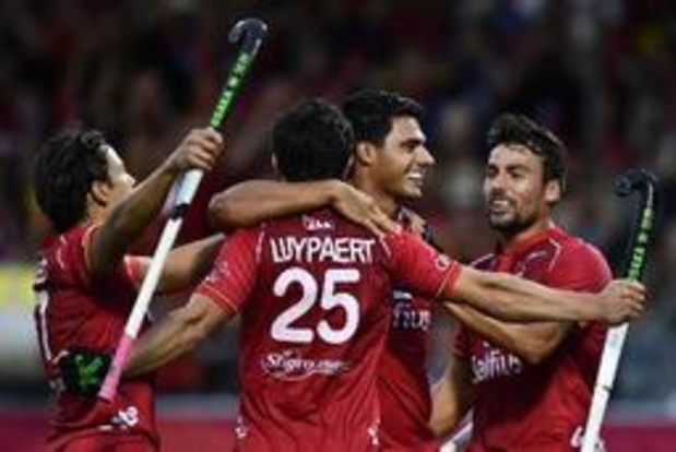 EK hockey (m) - Sterke Red Lions zetten favorietenstatus kracht bij met ruime zege tegen Spanje