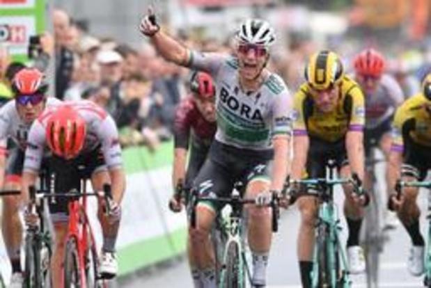 La première étape et le premier maillot de leader pour Sam Bennett