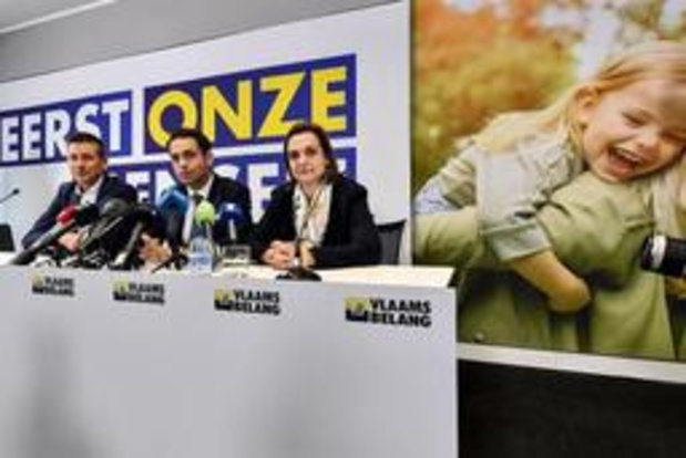 "Vlaams Belang: ""Regering is aan parlement dringend tekst en uitleg verschuldigd"""
