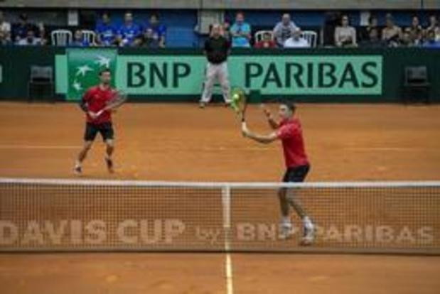 Challenger de Brastislava - Sander Gille et Joran Vliegen remportent la finale du double