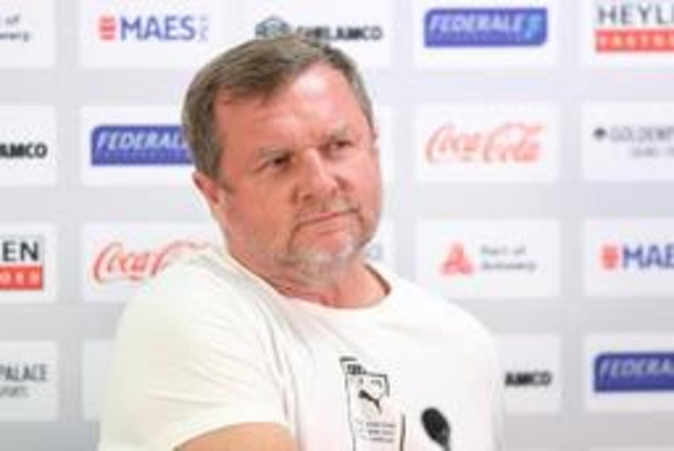 """Europa League - Viktoria-coach gelooft in goede afloop: """"Dit zetten we thuis nog wel recht"""""""