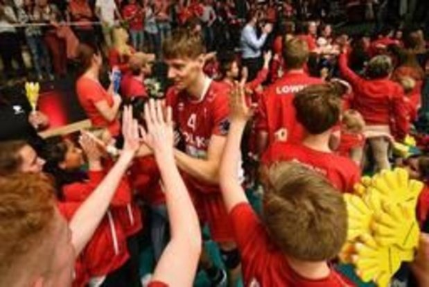 Euromillions Volley League - Maaseik start finale met 2-3 zege in Roeselare