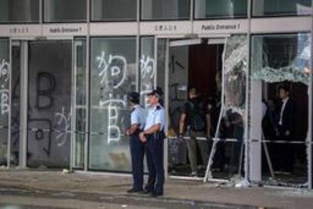 """""""Protesten treden rechtsstaat in Hongkong met voeten"""""""