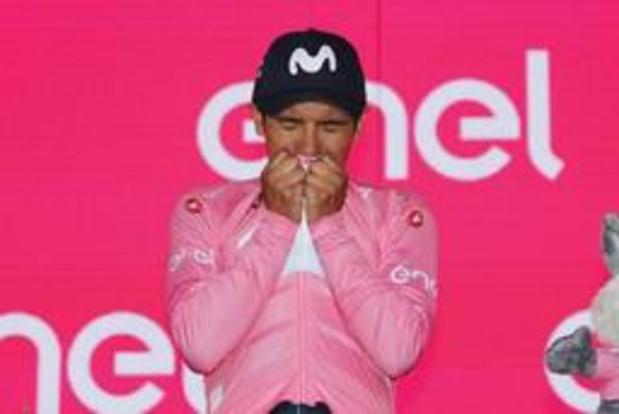 """Giro - Richard Carapaz slaat dubbelslag in Giro: """"Dit is een droom"""""""