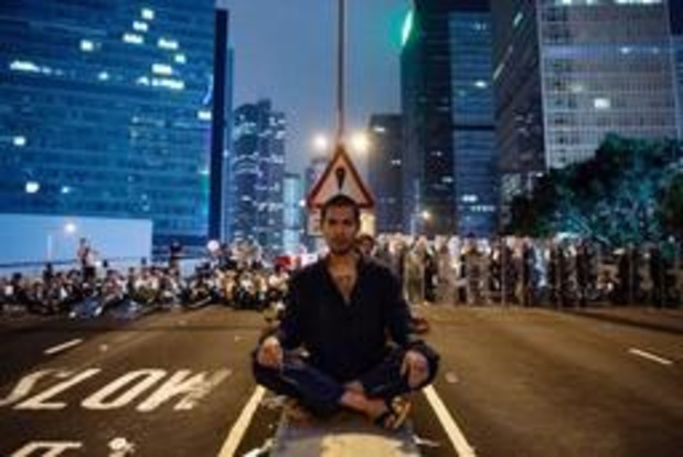 Uitleveringswet Hongkong - Kleine groep manifestanten betogen opnieuw in Hongkong