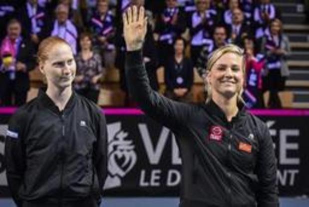 WTA Rosmalen - Un duel Bonaventure - Van Uytvanck au 1er tour, Minnen hérite de Barthel