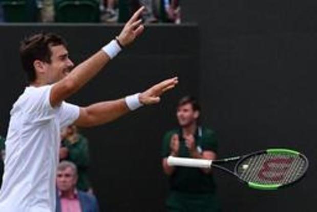 Wimbledon - Pella sort Raonic au bout du suspense et complète le plateau des quarts de finale