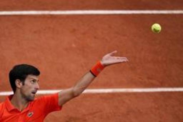Novak Djokovic is maat te groot voor Zwitser Laaksonen