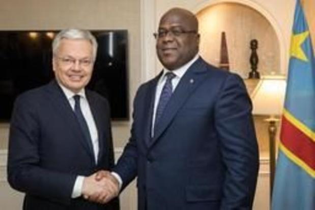 """Reynders rencontre Tshisekedi: """"tourner la page des élections et soutenir le changement"""""""