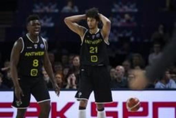 Champions League basket (m) - Antwerp Giants kan niet stunten tegen Tenerife en speelt geen finale in eigen huis