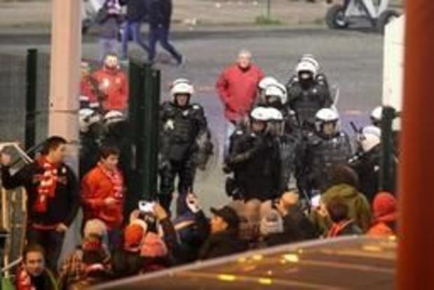 Les mesures de sécurité seront renforcées dimanche à Anderlecht