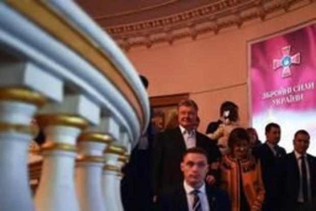 Presidentsverkiezingen Oekraïne - Porosjenko feliciteert zijn tegenstander