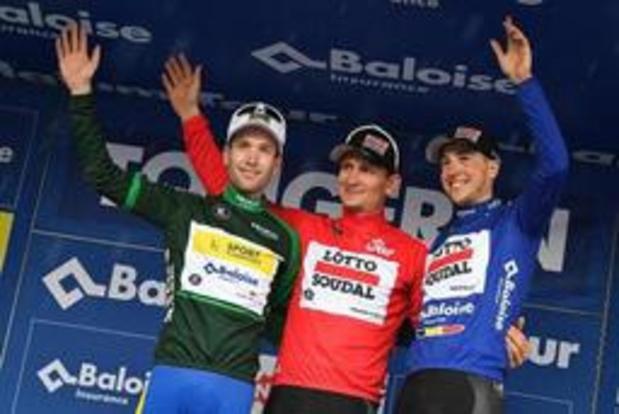 Baloise Belgium Tour - Quatre équipes WorldTour et un plateau relevé pour la 89e édition