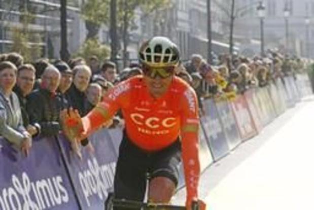 Greg Van Avermaet connait ses équipiers dans sa quête d'un second sacre à Roubaix