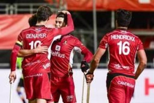 Hockey Pro League - Red Lions et Red Panthers en mode 'ascension' jeudi face à la Grande-Bretagne