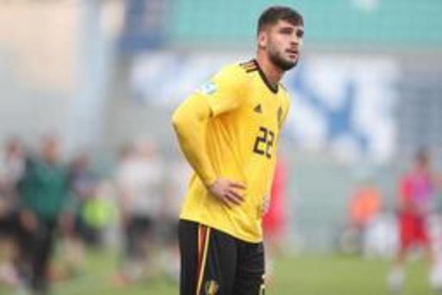Euro espoirs 2019 - Elias Cobbaut n'a pas été surpris par sa position dans l'axe de la défense