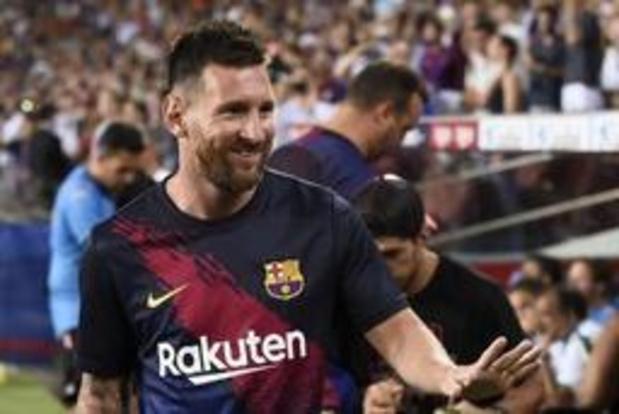 """Messi kan Barcelona volgende zomer transfervrij verlaten"""