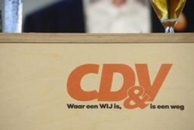 Le CD&V se tient prêt à réunir ses instances
