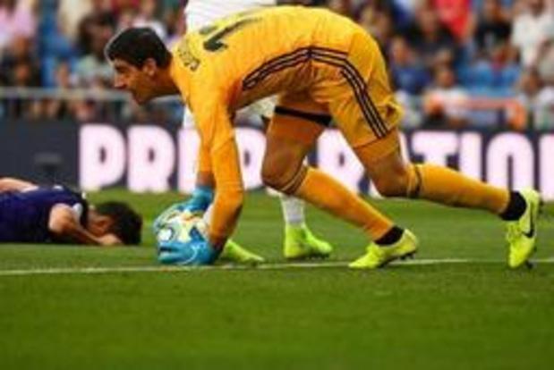 Belgen in het buitenland - Real geraakt in Bernabeu niet voorbij Valladolid