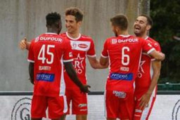 Jupiler Pro League - Toujours invaincu, Mouscron (2-1 contre La Gantoise) se hisse en troisième position