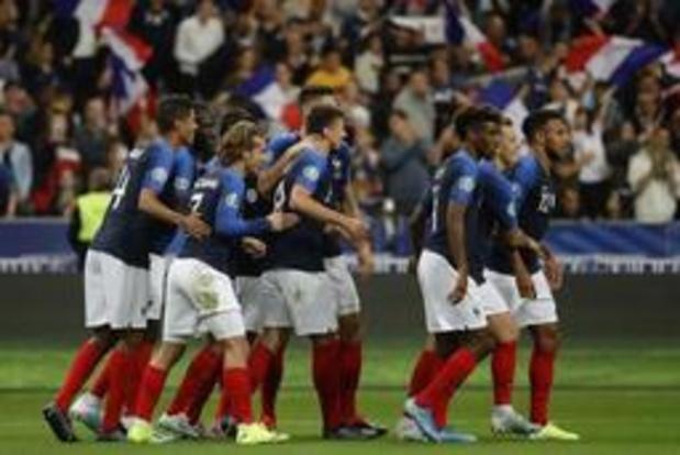 Kwal. EK 2020 - Frankrijk en Portugal maken geen fout, Engeland wint doelpuntenfestival tegen Kosovo