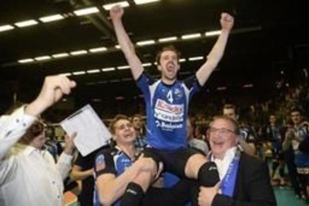 Ligue des champions de volley (m) - Civitanova et Stijn D'Hulst en finale contre le Zenit Kazan, quadruple tenant du titre