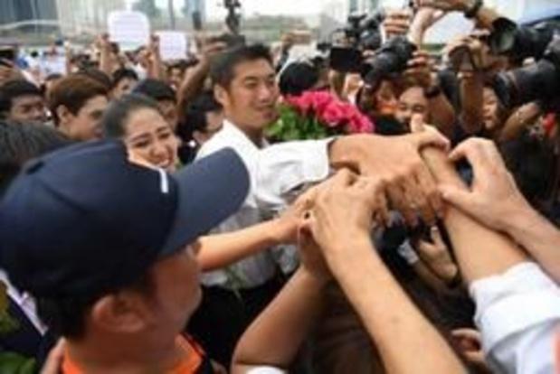 Verkiezingen Thailand - Leider van derde grootste partij gedagvaard