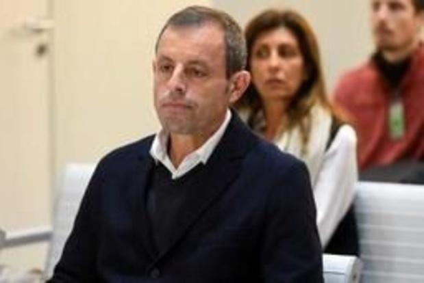 Voormalig Barça-voorzitter Sandro Rosell vrijgesproken in zaak rond witwaspraktijken