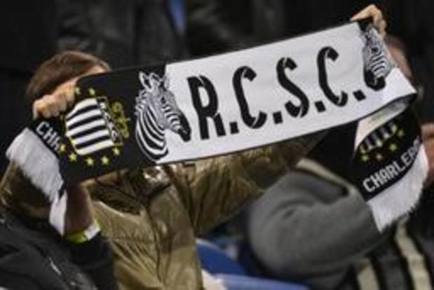Charleroi, pas d'accord du tout avec le report de son match contre Bruges samedi