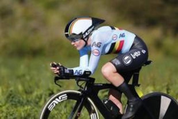 Ellen van Dijk enlève son 4e titre consécutif de championne d'Europe de contre-la-montre