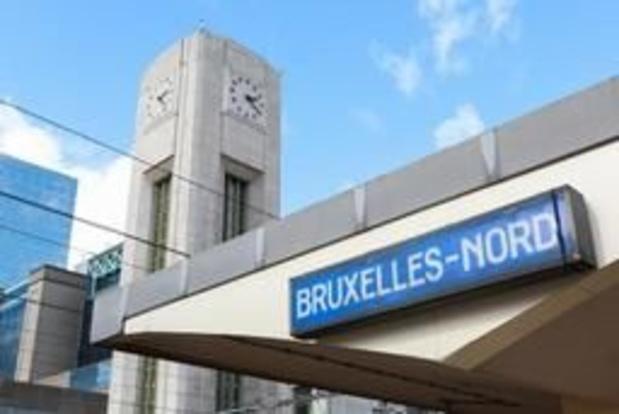 Brussels gewest gaat deel van Noordstation 's nachts afsluiten voor migranten
