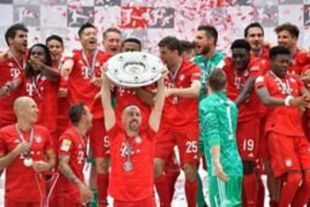 Septième titre consécutif pour le Bayern Munich