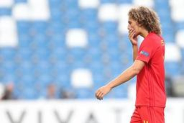 "EK U21 (m) - Wout Faes baalt van uitschakeling: ""Dubbel jammer omdat we op het niveau van Spanje zaten"""
