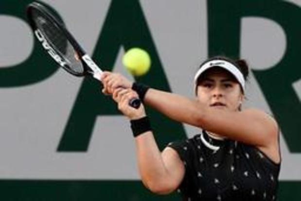 WTA Toronto - Andreescu pakt tweede WTA-titel, Williams geeft op na amper vier spelletjes