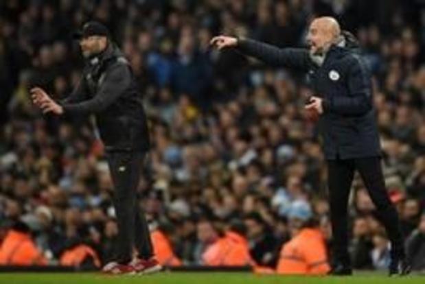 Premier League - Guardiola bat encore Klopp, pour le trophée d'entraîneur de l'année en Angleterre