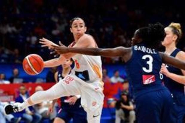 EK basket (v) - Spanje snoept Frankrijk weer het goud af