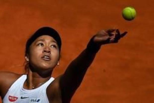 Osaka blijft WTA-ranking aanvoeren, Mertens behoudt twintigste plaats