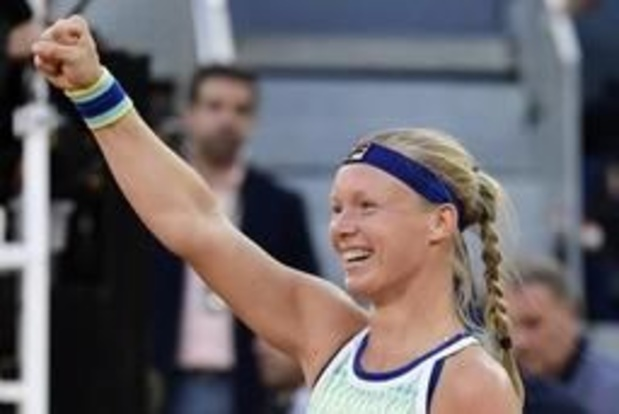 WTA Madrid - Kiki Bertens s'impose à Madrid et prive Halep de la place de N.1 mondiale