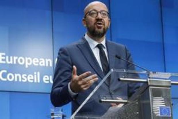 Aucun parti francophone n'a félicité Charles Michel pour sa nomination