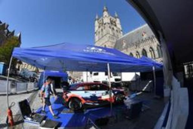 BK rally - Craig Breen leidt in Ieper, Neuville rijdt in Masters iedereen naar huis