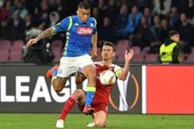 Les Belges à l'étranger - Sans Mertens, Naples émerge en fin de match contre la SPAL