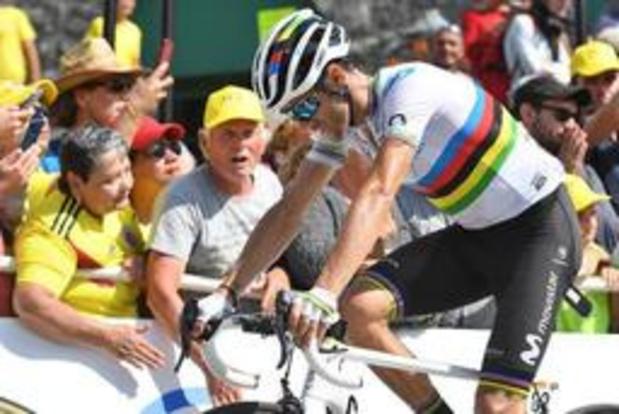 Alejandro Valverde krijgt rugnummer 1 in Vuelta