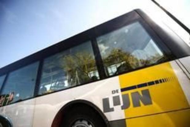 Le trafic des bus De Lijn fortement perturbé dans le Brabant flamand
