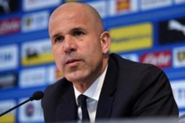 """EK U21 (m) - Luigi Di Biagio: """"Deze zege voelt eerder als een nederlaag aan"""""""