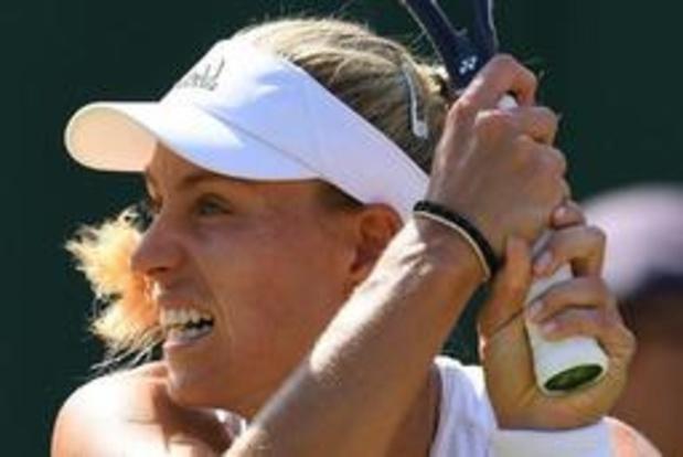 US Open - Angelique Kerber weer snel klaar in New York