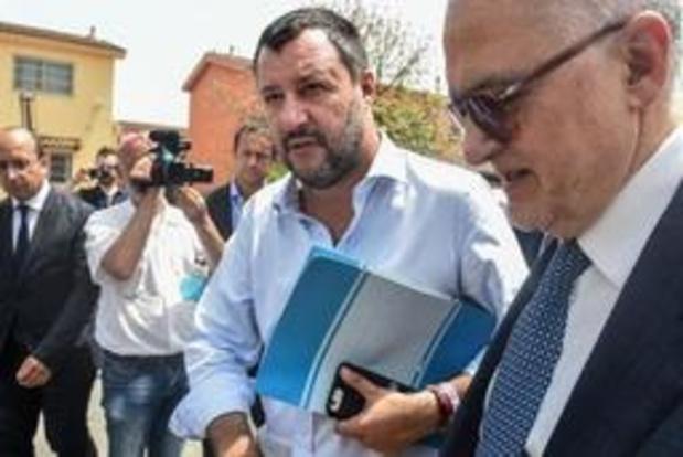 Salvini ontkent Russische financiering