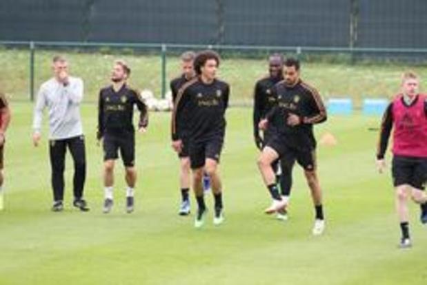 Roberto Martinez dispose d'un effectif complet pour le match contre l'Ecosse