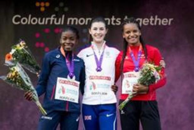 """EK atletiek voor junioren - Lucie Ferauge blij met brons op 200 meter: """"Fier op mijn prestatie"""""""