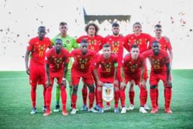 Euro U21 (m) - La Belgique, éliminée, boucle sa compétition face à l'Italie pour l'honneur