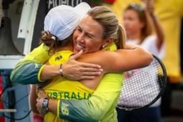 Australië is eerste Fed Cup-finalist